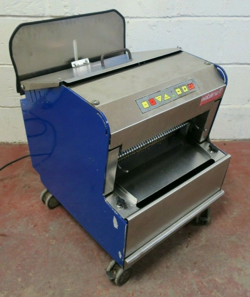 Wabama 380.10 Piccolo Elektronik  Automatic 10mm Bread Loaf Slicer Bakery 1PH